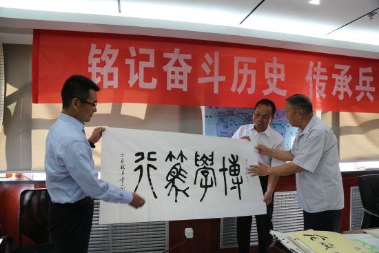 """八旬老党员走进北新路桥国际建设公司上""""红色党课"""""""