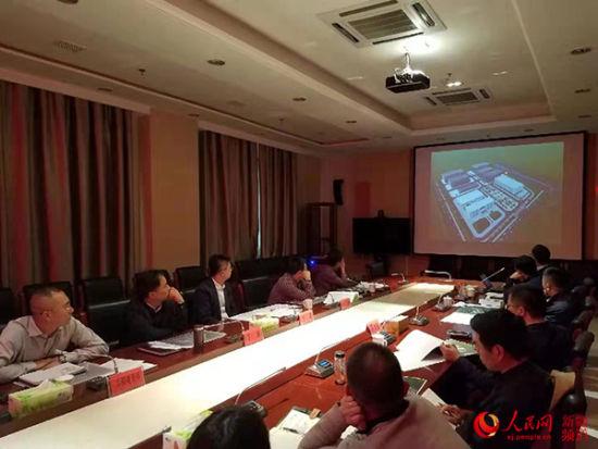 和田地区墨玉县北京工业园纺织园(三期)建设项目概念设计方案汇报会在和田市京和大厦召开。