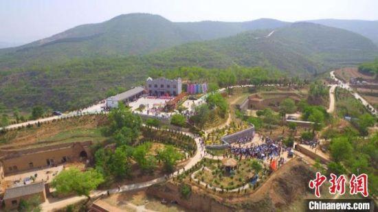襄垣县古韩镇乡村特色旅游方兴未艾。 崔晶 摄