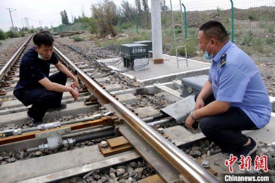经多方检查,该铁路线建设最终顺利通过安检评估。