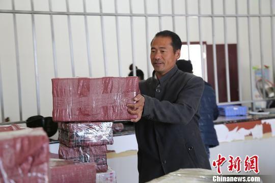 """新疆兵团职工""""网售""""农产品增收 月余售红枣逾3吨(图)"""