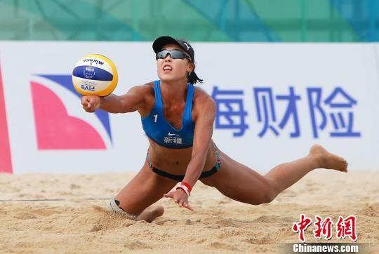 新疆女子沙排获第十三届全运会铜牌
