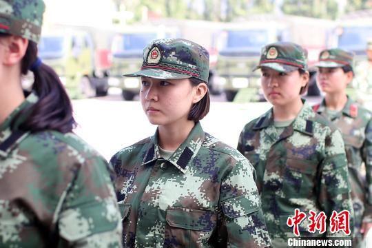 驻疆武警某部今秋迎来入营第一批新兵