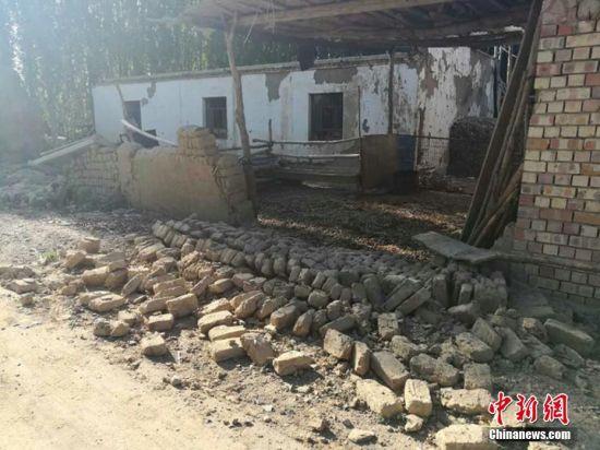 新疆精河6.6级地震已致32人受伤千所房屋倒塌受损