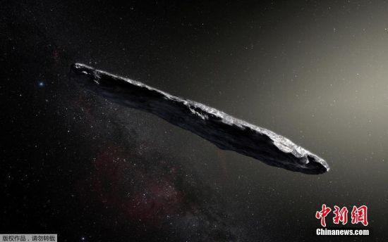 人类首次在太阳系内发现系外天体 形状细长酷似雪茄
