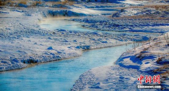 新疆托里县雪后美景惊艳别致 令人陶醉