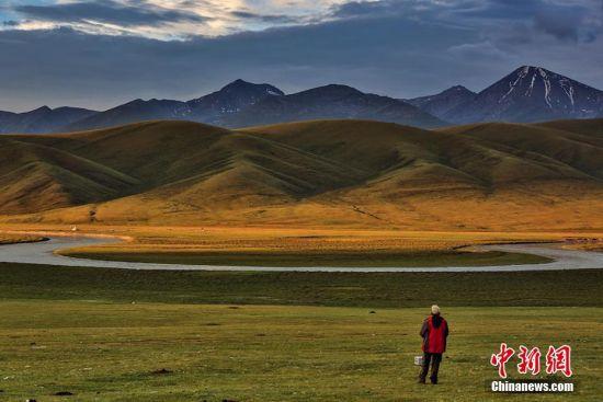 雨后新疆巴音布鲁克宛如仙境