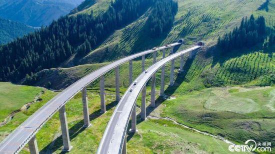 【新时代·幸福美丽新边疆】在中国最长高速公路邂逅新疆第一高桥