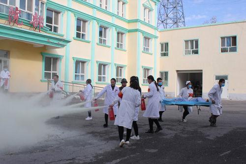 第四师六十七团医院开展应急消防逃生疏散演练