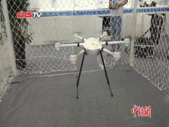 第三届安防博览会在新疆召开 无人机成亮点
