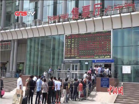 中秋、古尔邦两节七天长假 新疆铁路迎节日高峰
