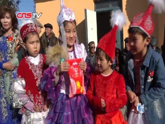 新疆哈萨克族风俗:少女的耳环礼