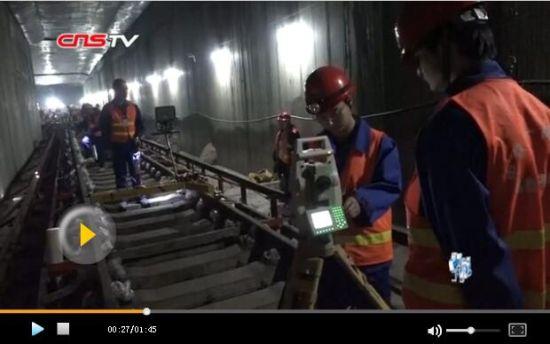 """精调小车助力新疆地铁建设 设备延""""寿命""""乘客提舒适"""