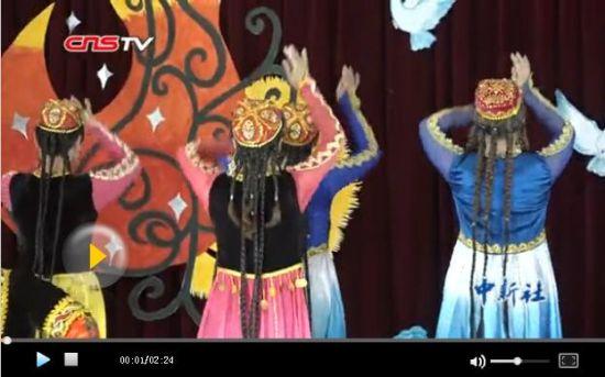 新疆戒毒所学员现身说法 自编自导文艺节目