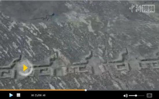 """无人机拍摄新疆戈壁""""怪圈""""形成原因仍是谜"""