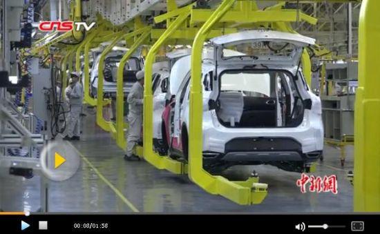 广汽乘用车新疆项目一期程竣工 填补新疆国产汽车制造空白