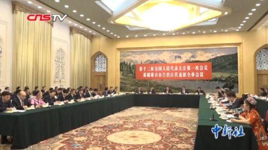 雪克来提·扎克尔:新疆形势非常稳定 人民生活不断向好