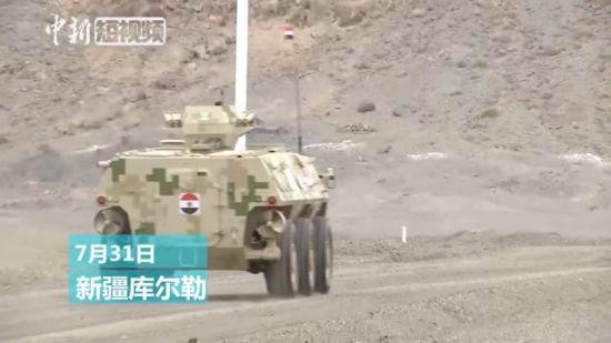 """新疆:7国防空导弹兵赛场比拼""""速度与激情"""""""