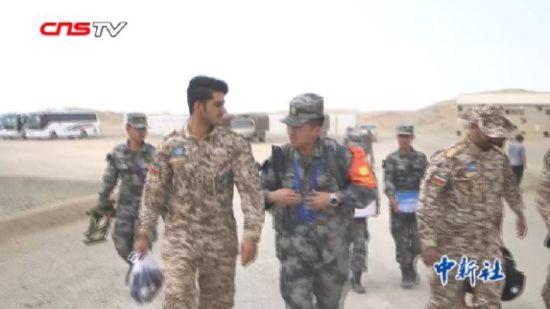 """2018国际军事比赛新疆赛区:""""国际范""""的翻译们"""
