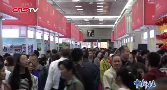 中国-亚欧博览会首设精准扶贫成果展区