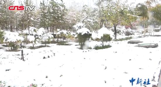 新疆发布暴雪蓝色预警 乌鲁木齐等局地有暴雪