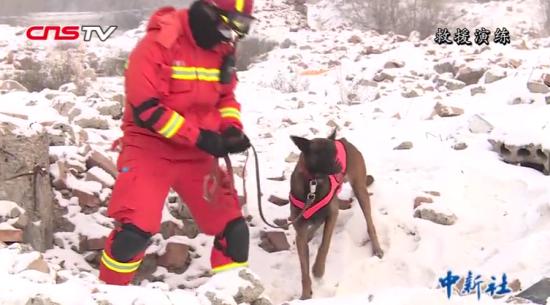 -20℃!新疆消防26小时跨区域地震救援实战演练