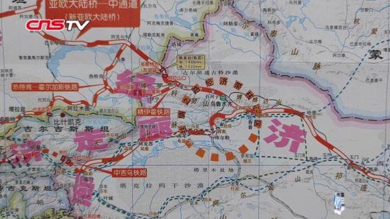 """乌鲁木齐国际陆港区将成引领""""丝路""""核心区建设重要引擎"""
