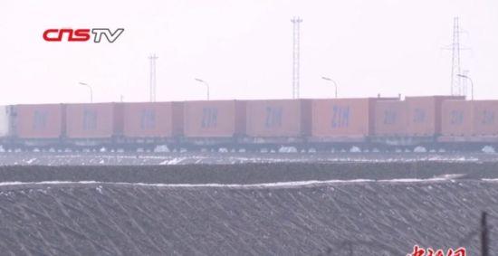 阿拉山口口岸中欧班列恢复常态化通行
