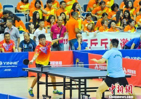 """新疆举办""""一带一路""""国际乒乓球邀请赛"""
