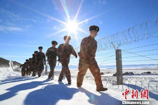 新疆边境线上迎新春