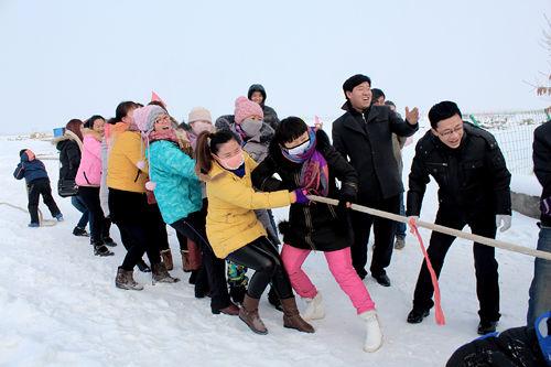第六师新湖农场户外爱好者冰雪世界乐翻天