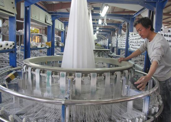 一四三团华星编织袋厂实现首季生产开门红