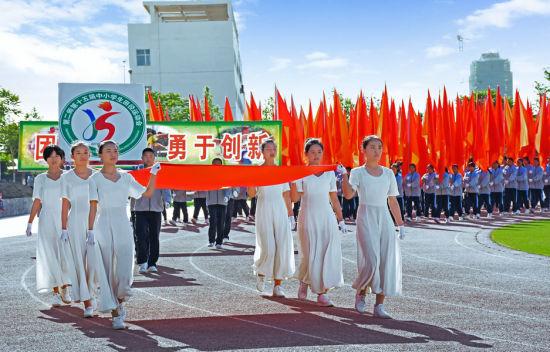 兵团第二师举办第十五届中小学生田径运动会