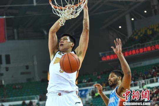 CBA联赛39轮:山西男篮115:120不敌新疆男篮