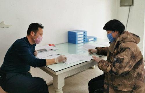 十一师建咨集团配合地方社区打好疫情防控阻击战