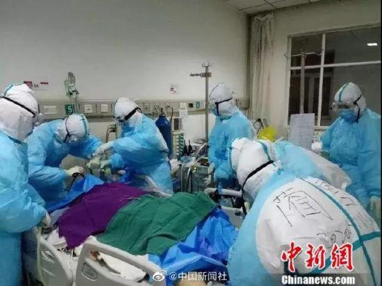 16小时手动生命接力,他们成功抢救一名危重症新冠肺炎患者
