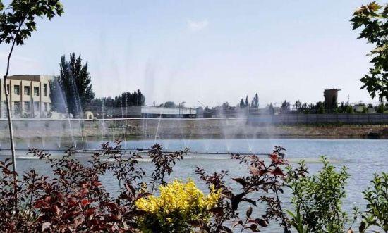 新疆青松建化水泥厂:厂在园中景色如画